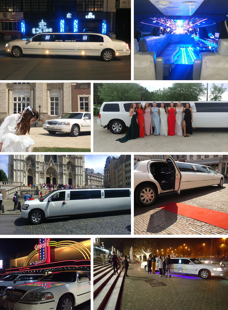 Fotocollage limousine services